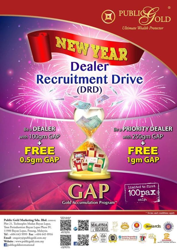 New Year Dealer Recruitment Drive (DRD)